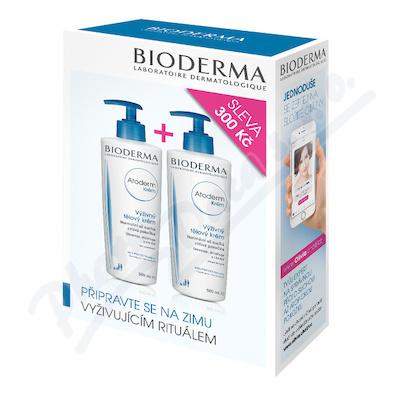 BIODERMA Atoderm Krém 500 ml 1+1 výhodné balení