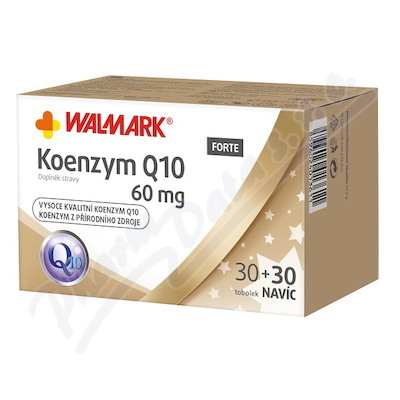 Walmark Koenzym Q10 60mg tob.30+30 Promo 2018