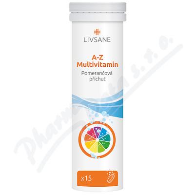 LIVSANE Šumivé tablety A-Z multivitamin 15ks