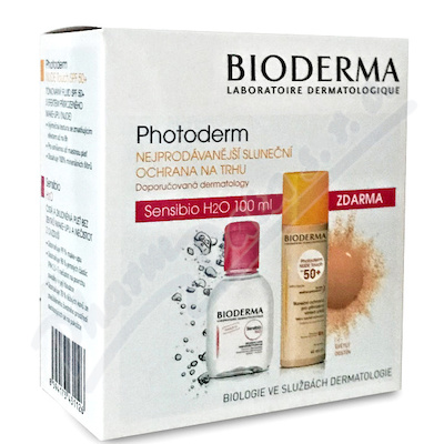BIODERMA Photod.NUDE Touch přir.40ml+Sen.H2O 100ml