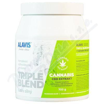 ALAVIS Triple blend Extra silný+ Cannabis CBD 700g
