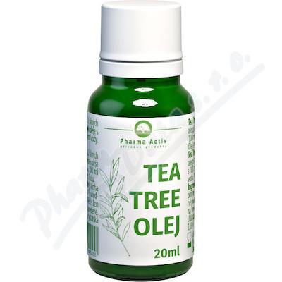 Tea Tree olej s kapátkem 20 ml Pharma Grade