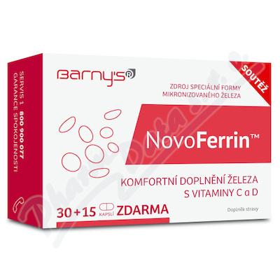 Barnys NovoFerrin cps.30+15 ZDARMA