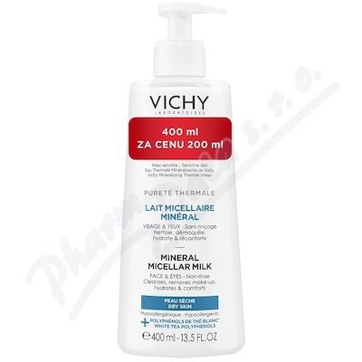 VICHY PURETÉ THERMALE Micelární mléko 400 ml