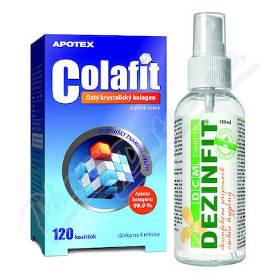 COLAFIT 120 kostiček+dezinfekce 100ml