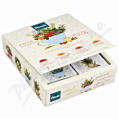 Dilmah Natural Infusions dárkové balení čajů 40x2g