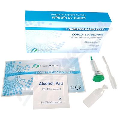 COVID-19 IgG/IgM Testovací set -detekce protilátek