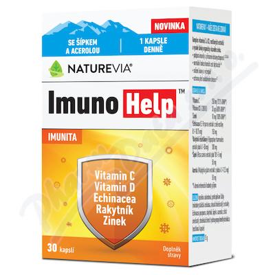 NatureVia ImunoHelp cps.30