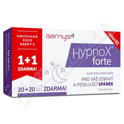 Barnys HypnoX forte tbl.20+20 zdarma