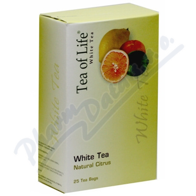 Tea of Life White tea Natural citrus n.s.25x2g