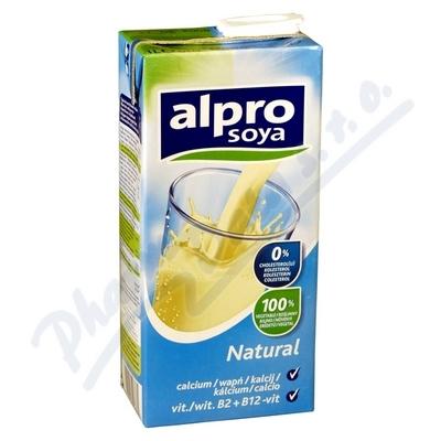 Alpro Sójový nápoj natural s vápníkem 1l