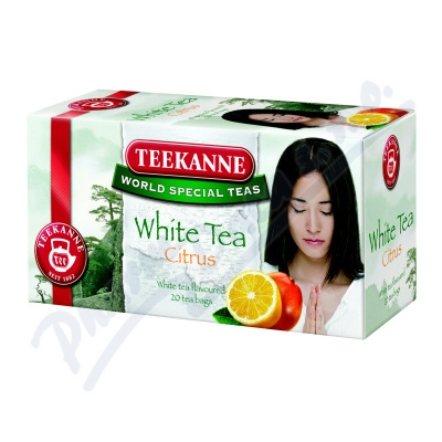TEEKANNE White Tea Citrus n.s.20ks