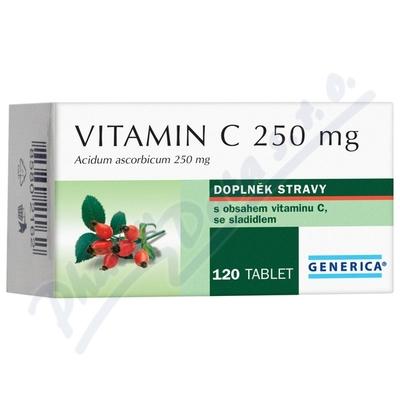Vitamin C 250mg Generica tbl.120
