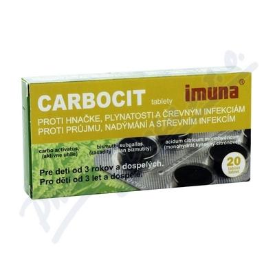 Carbocit 320mg/25mg/3mg tbl.nob.20