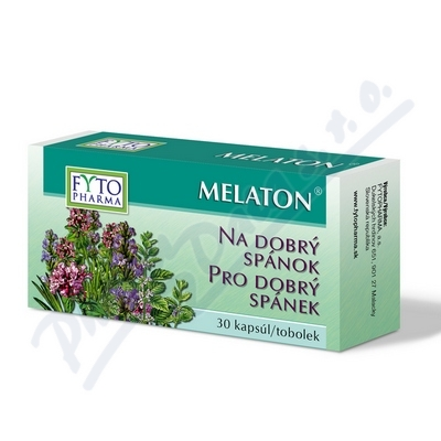 Melaton tobolky pro dobrý spánek tob.30 Fytopharma