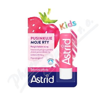 Astrid balzám na rty KIDS jahoda 4.8g