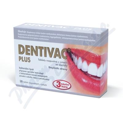DENTIVAC PLUS 30 rozpustných tablet
