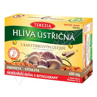 TEREZIA Hlíva ústřičná s rakyt.olejem cps.60