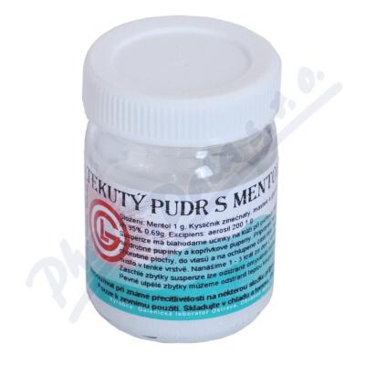 Tekutý pudr s mentolem 100g GLO