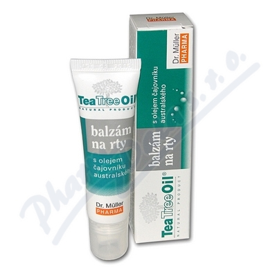 Tea Tree Oil balzám na rty 10ml Dr.Müller