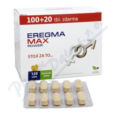 Natural Medicaments Eregma Max Power tbl.120