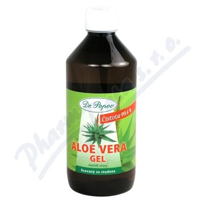 Aloe Vera gel 500ml potravinový doplněk Dr.Popov