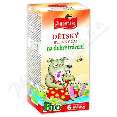 Apotheke Dětský čaj BIO dobré trávení 20x1.5g