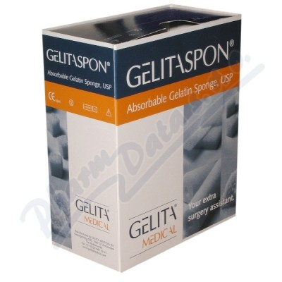 Gelita-Spon Standard GS-002 80x50x10mm/2ks
