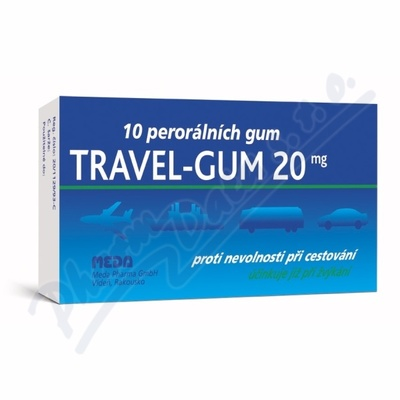 Travel-Gum 20 por.gum.10x20mg