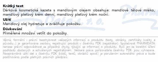 Dárková kazeta Mandlová těl.ml.+den./noč.krém