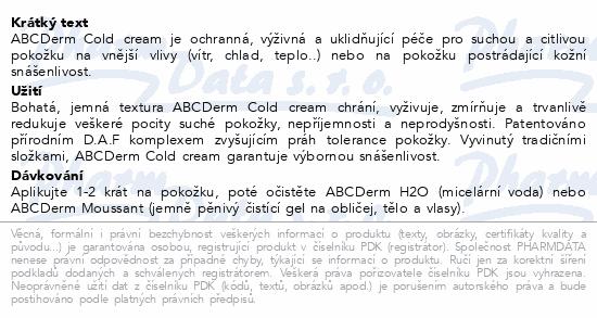 BIODERMA ABCDerm Cold-Cream 40 ml