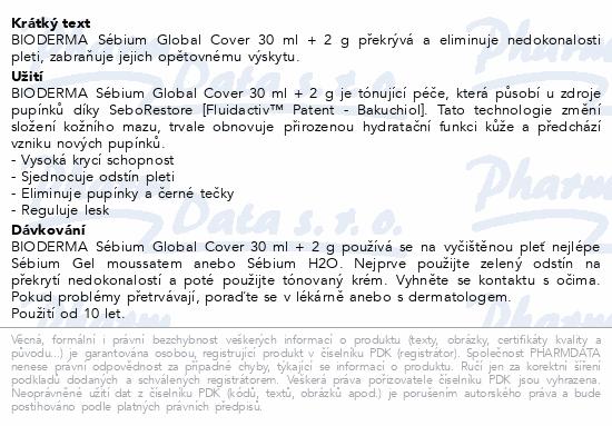 BIODERMA Sébium Global Cover 30 ml + 2 g