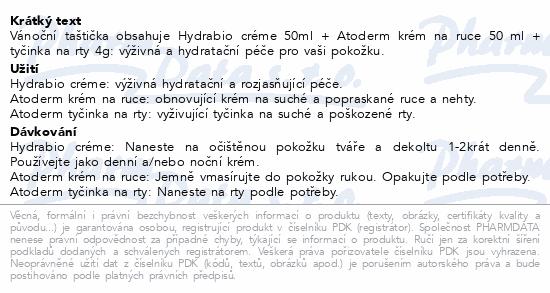 BIODERMA Hydrabio Creme 50ml+At.Tyč.4g+At.Ruce50ml