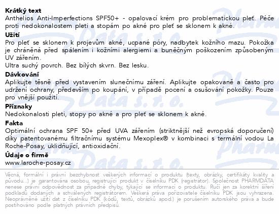 LA ROCHE-POSAY ANTHELIOS Krém SPF50+ 50ml