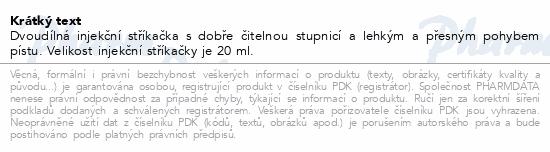 BD Discardit 2dílná Inj. stříkačka 20ml 80ks