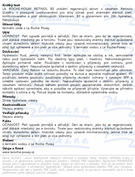 LA ROCHE-POSAY RETINOL B3 sérum 30ml
